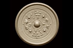三角縁神獣鏡(福原模造)京都国立博物館所蔵