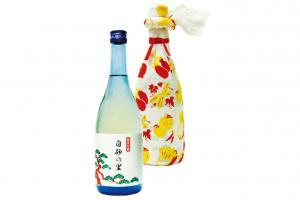 復刻酒「白砂の里 純米吟醸 無ろ過」2,376円