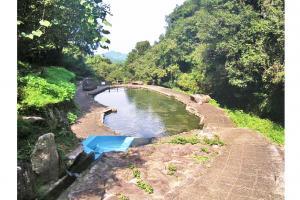 羽門の滝/松尾川河川プール