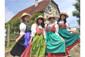 民族衣装体験