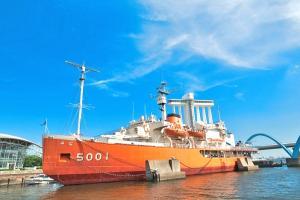 名古屋港ポートビル(名古屋海洋博物館・展望室・南極観測船ふじ)