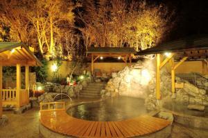 大庭園露天風呂 おかざき楽の湯