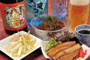 本格焼酎と琉球泡盛の店 招福