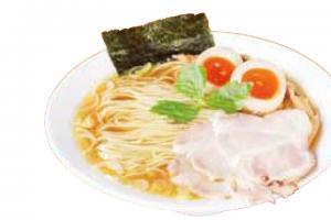 中華そば+味玉 880円