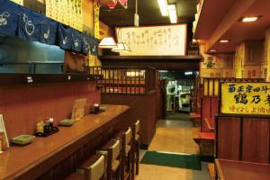 広い店内には、お座敷の他個室やカウンター席もありシーンにあわせて利用しやすい。