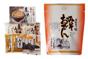 店頭やオンラインショップでは、山本屋総本家の味が家庭でも楽しめる商品を発売している。味噌煮込みうどんの他、みそおでんやどて煮も揃う。
