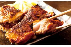 三河鶏もも肉の柚子胡椒焼き780円