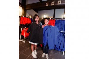 忍者衣装レンタル!★大人も子どもも楽しめる忍者衣装のレンタル。富士山をバックに日本庭園やアトラクションで忍者になりきって記念撮影しよう。旅の楽しい思い出作りにもぴったり。